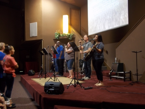 Collin Creek Praise band
