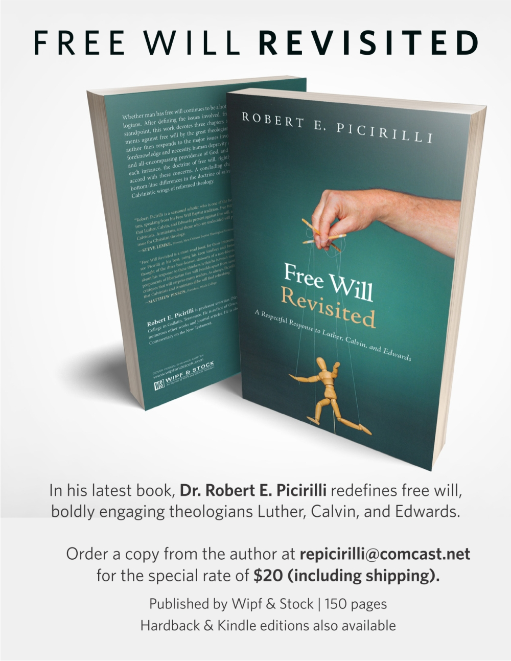 free will book ad